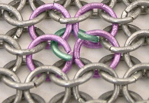 Weaving Chainmail Rings