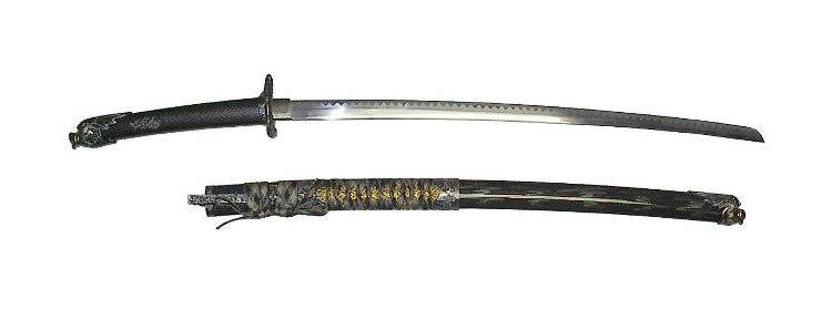 Black Dragon Katana
