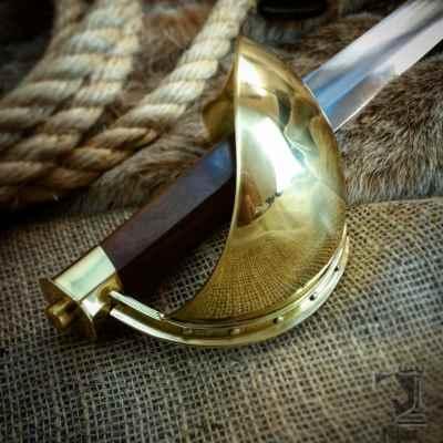 Brass Pirate Cutlass Sword
