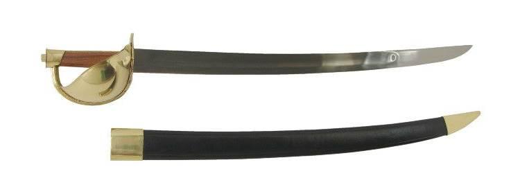 Brass Pirate Cutlass Sword - 500180 - Windlass Steelcrafts