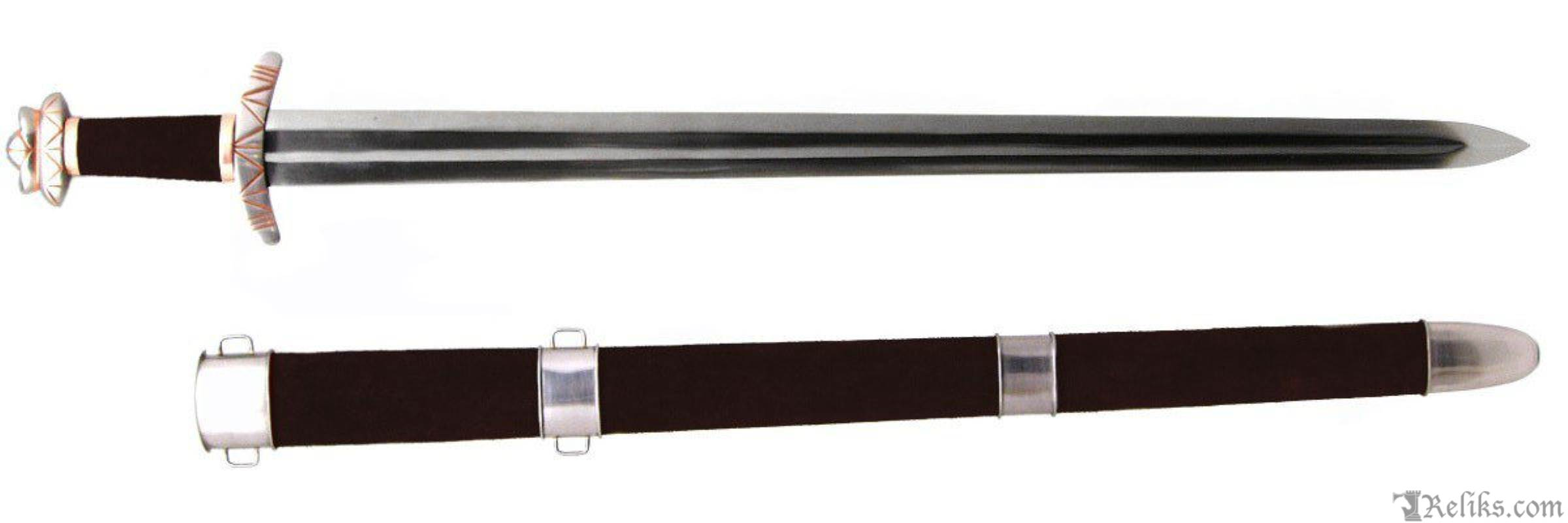 Sticklestad Viking Sword Functional European Swords Windlass Feel Free To Cut The Tip Of Make It More Close Up