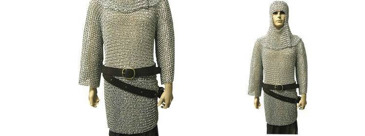 Riveted Aluminum Chainmail Shirt - 300138 - Windlass Steelcrafts