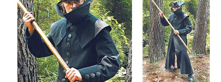 French Highwayman Coat - 100530 - Windlass Steelcrafts