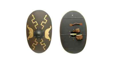 Oval Roman Shield