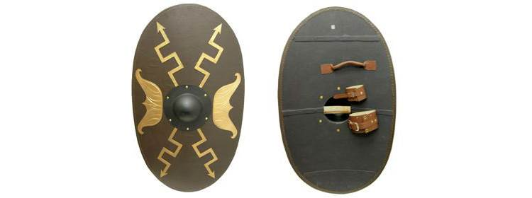 Oval Roman Shield - 801068 - Windlass Steelcrafts