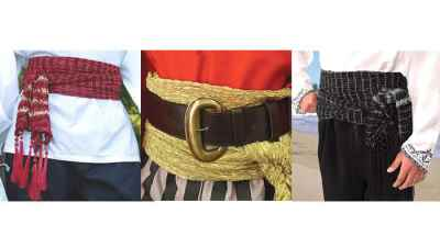 Pirate Sashes