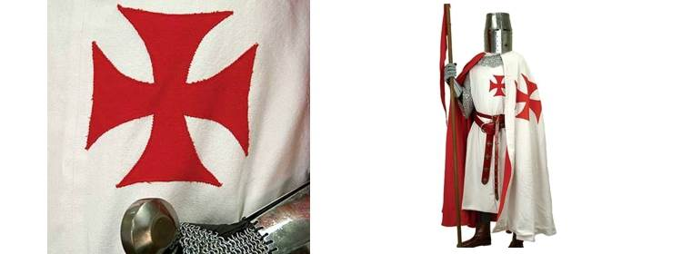 Knights Templar Tunic - 100936 - Windlass Steelcrafts
