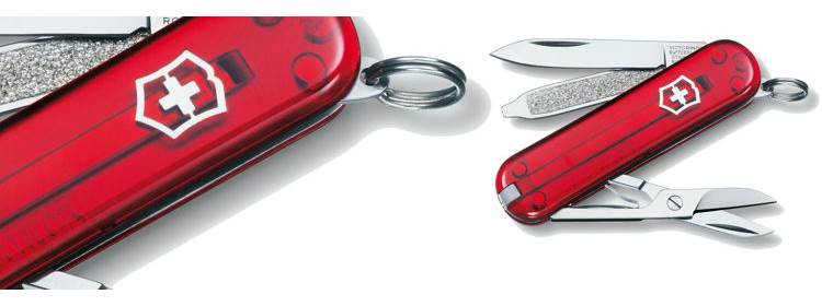 Classic SD Ruby Knife - 54211 - Victorinox Swiss Army