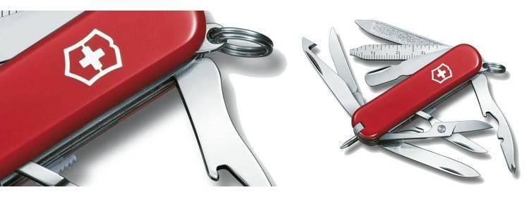 Minichamp Red Knife