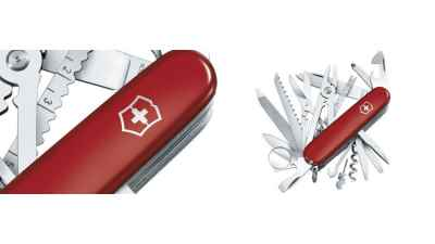 Swisschamp Red Knife