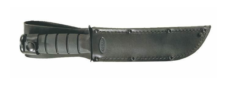 Black Leather Replacement Sheath - 1211S - Ka-Bar Knives