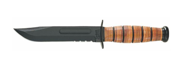 USMC Serrated Knife