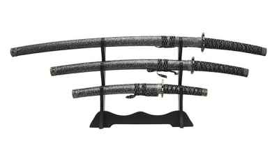 Marbled Samurai Sword Set