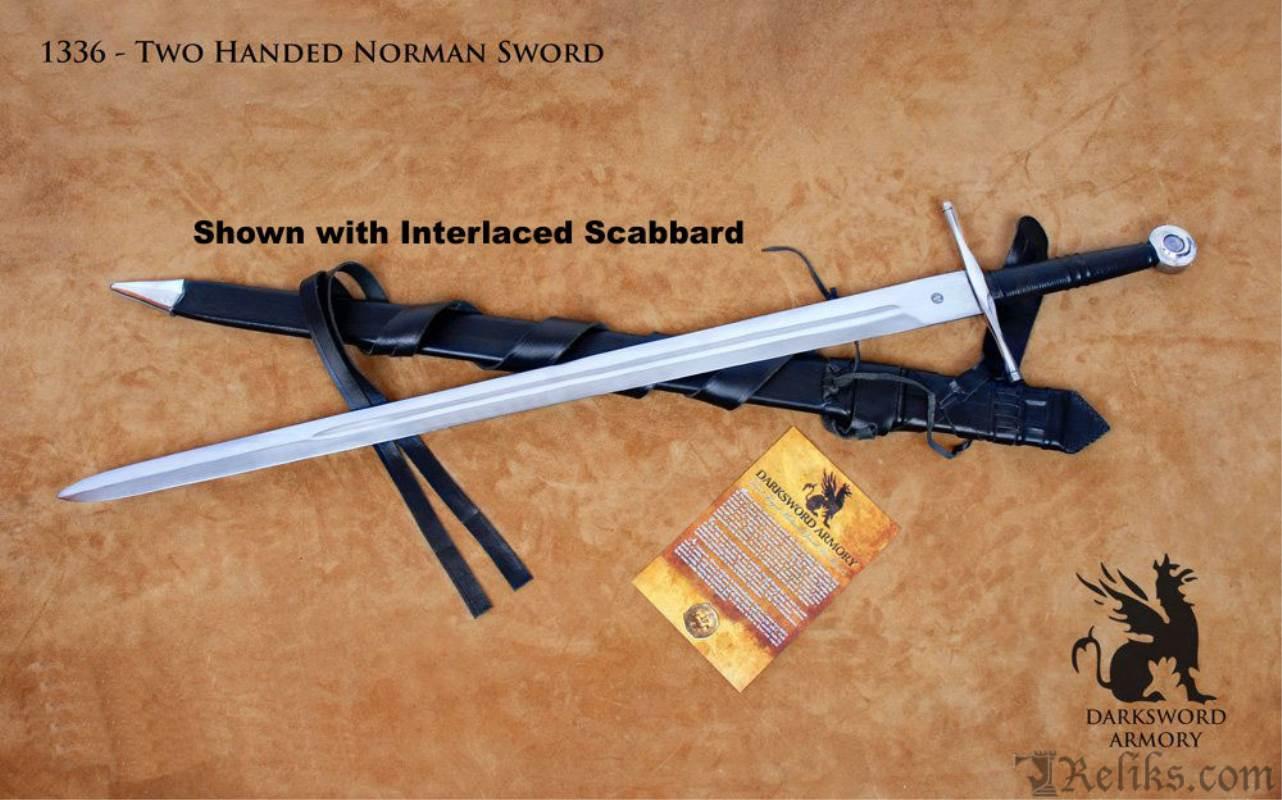 Two Handed Norman Sword Functional European Swords