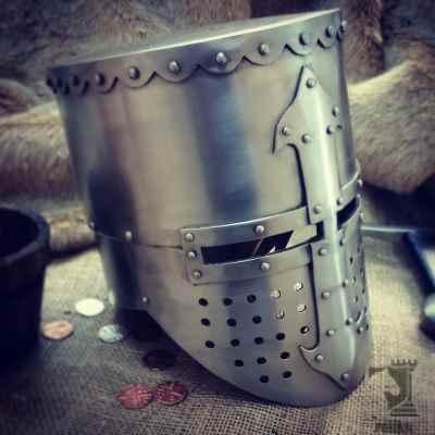Crusader Flat Top Helmet