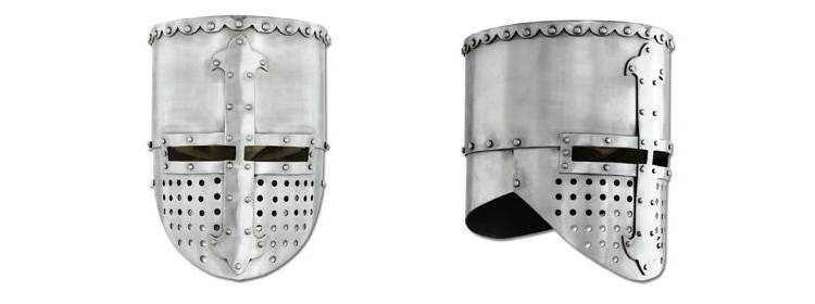 Crusader Flat Top Helmet