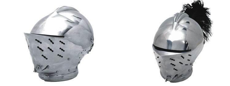 Tudor Close Helm - 300432 - Windlass Steelcrafts
