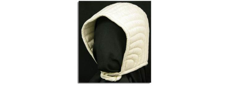 Padded Arming Cap - Natural