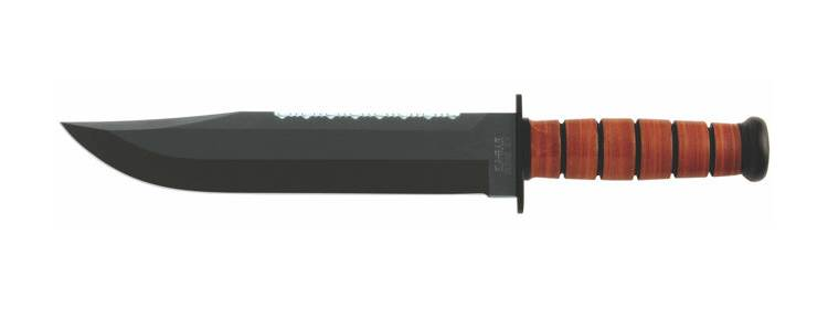 Big Brother Knife - Leather Handle