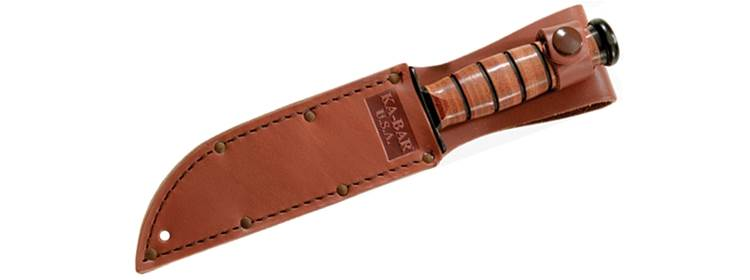 Brown Leather Replacement Short Sheath