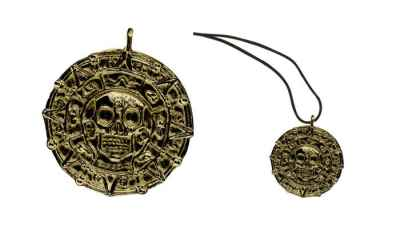 Aztec Coin Necklace