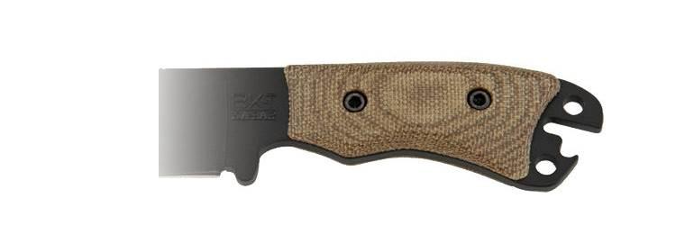 Becker Necker Micarta Handle Kit - BK11HNDL - Ka-Bar Knives