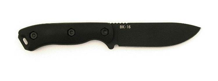 Short Becker Drop Point Knife