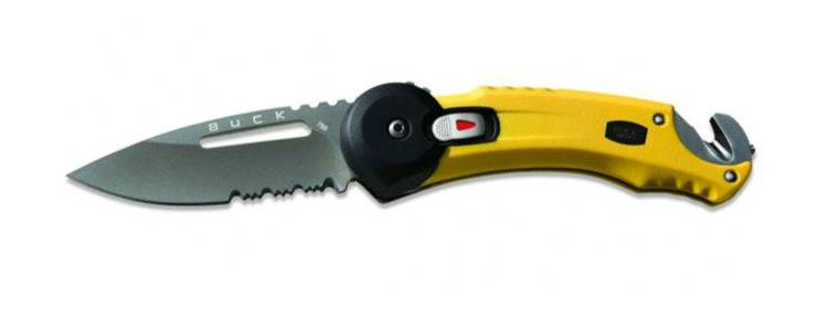 Redpoint Rescue Knife - Yellow - 0753YWX-B - Buck Knives
