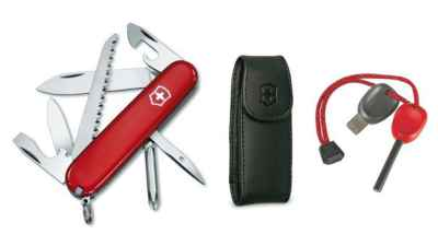 Hiker Firestarter Combo Knife
