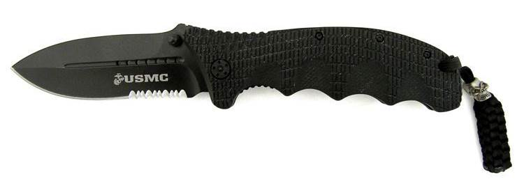 USMC Folding Knife Black