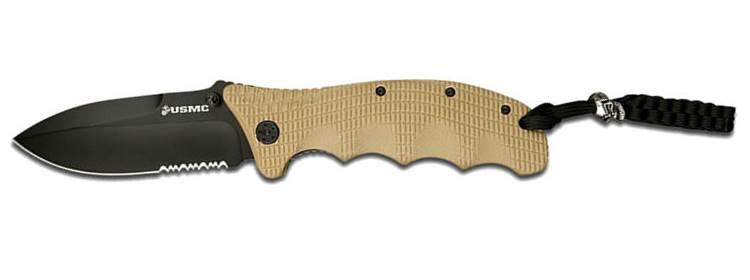 USMC Folding Knife - Tan