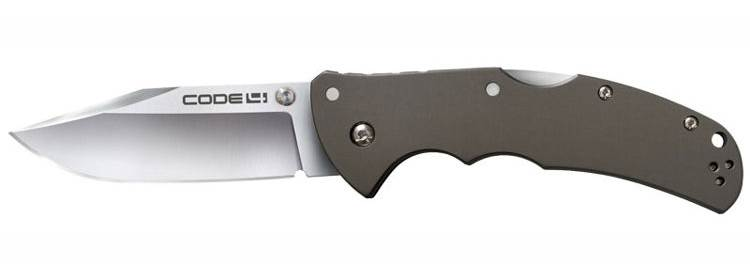 Code 4 Knife - Clip Point - 58TPCC - Cold Steel