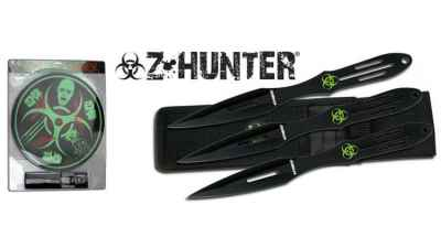 Zombie Hunter Throwing Knife Kit