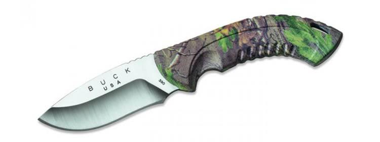 Omni Hunter 10 PT Knife - Camo Handle - 0390CMS20-B - Buck Knives
