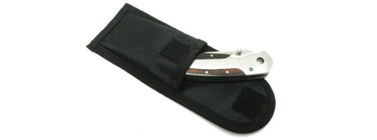 Vinyl Knife Pouch