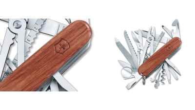 SwissChamp Wood Handle