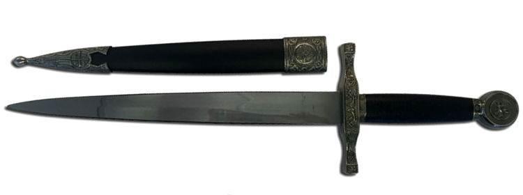 Silver Excalibur Dagger - HK-3417SL -