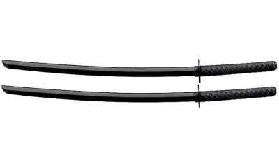 Dojo Pack - 2 Textured Poly Bokken