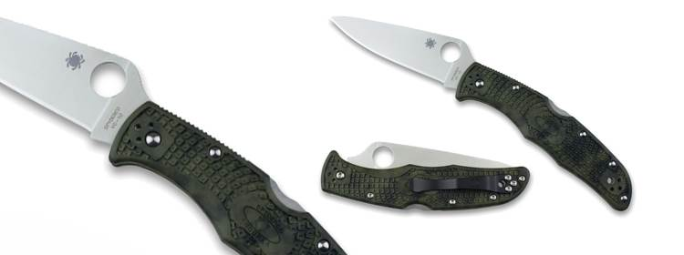 Zome Endura® 4 Lightweight Green Knife