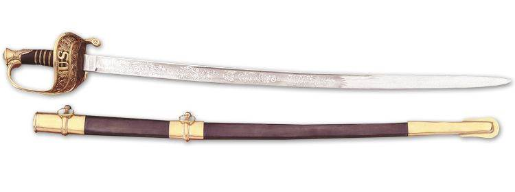 Model 1850 Union Staff & Field Officer's Sword