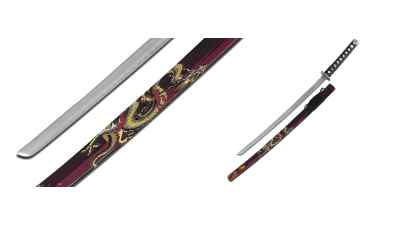 Dragon Samurai Sword