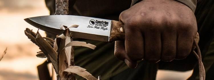 Lars Falt Bushcraft Knife - KS11804 - Casstrom Sweden