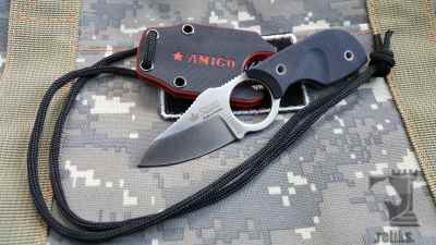 Amigo X Knife  D2 Satin