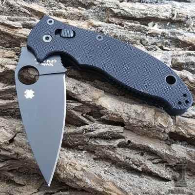 Manix 2 Knife- Black Blade