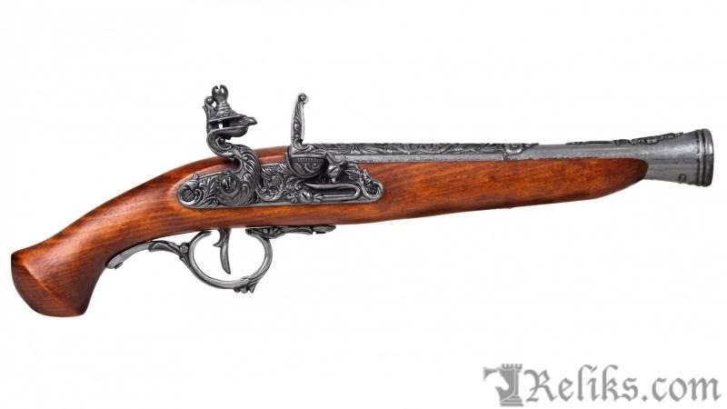 German Flintlock Pistol