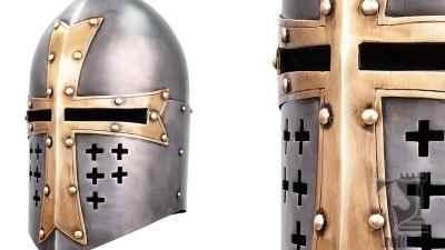 Knights Templar Sugarloaf Helm