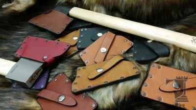 Leather Axe Sheath