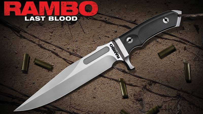 Rambo Last Blood Bowie Knife