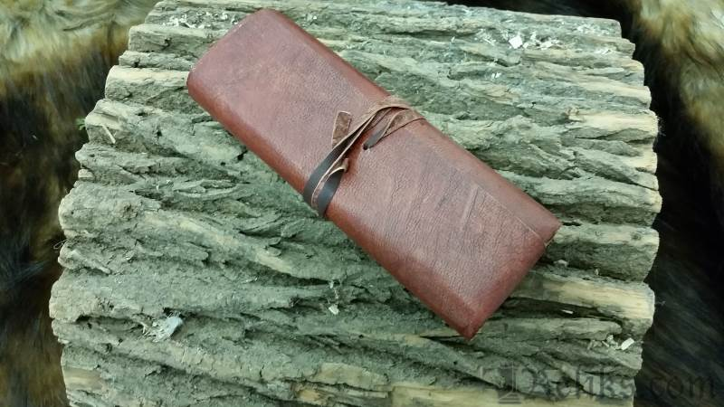 Leather Journal Roll