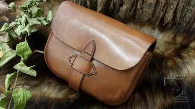 Cross Strap Belt Pouch